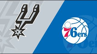Philadelphia 76ers vs San Antonio Spurs 3/14/21 Free NBA Pick and Prediction NBA Betting Tips