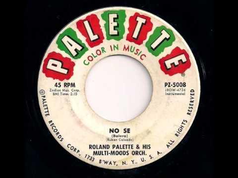 No Se - Roland Palette & His Multi Moods Orch. (Popcorn Exotica)