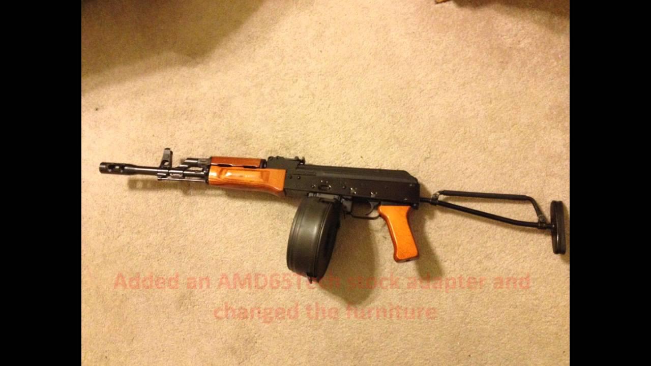 Custom Hungarian AMD-65 7 62x39mm AK-47 Rifle