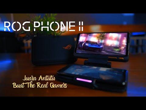ROG Phone II, Juara Antutu Buat The Real Gamers