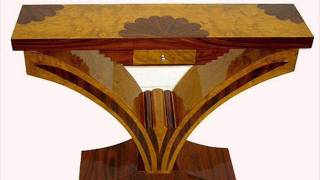 European Art Deco  Console Table For Interior Designers In Texas