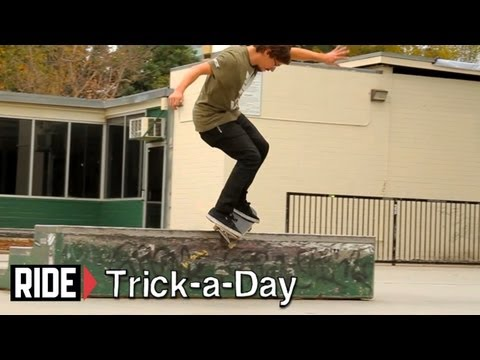 How-To Skateboarding: Feeble Grind on Ledges with Shaun Gregoire