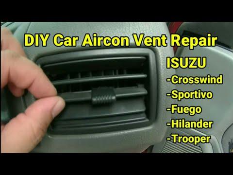 DIY Car Aircon Vent Repair