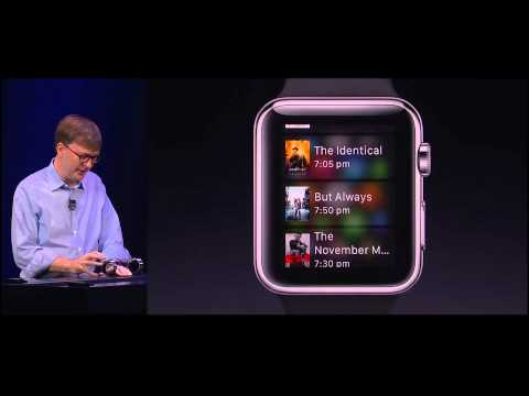 Apple Watch demo by Kevin Lynch - YouTube