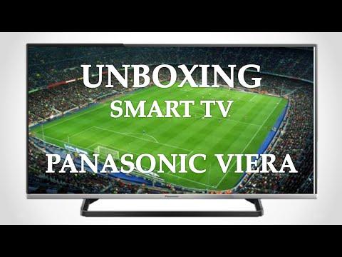 Unboxing  Smart TV Panasonic Viera AS600