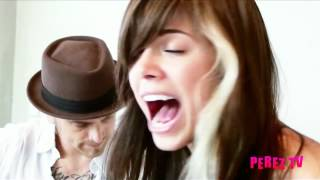 "Christina Perri - ""Arms"" & ""Jar Of Hearts"" (Perez Hilton Performance)"