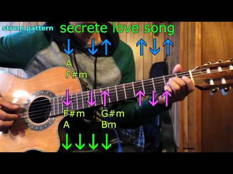 secrete love song little mix guitar chords