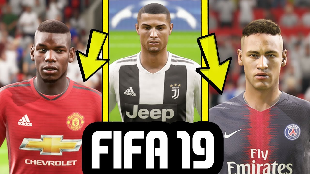 online retailer 08367 dfadb FIFA 19 GAMEPLAY - NEW KITS Ft. Manchester United, Real Madrid, PSG,  Juventus & More