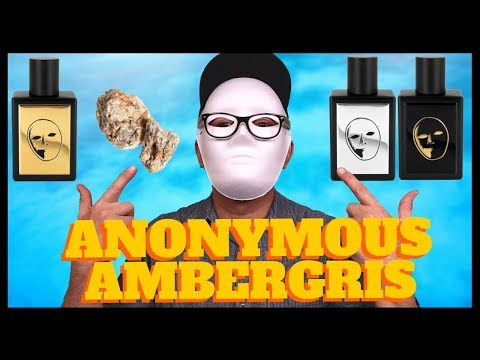 ANONIM FRAGRANCES PREVIEW | BLACK AMBERGRIS, SILVER AMBERGRIS, GOLDEN AMBERGRIS | 4 Ambergris Lovers