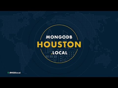 MongoDB.local Houston Keynote