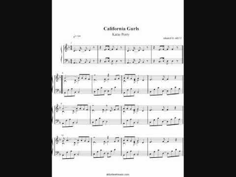 Katy Perry - California Gurls (Piano Cover) by Aldy Santos