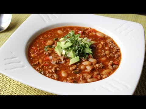 Italian Sausage Chili - Spicy Sausage & White Bean Chili Recipe