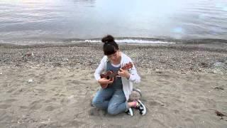ひこうき雲 ウクレレ ukulele ソロ弾き.