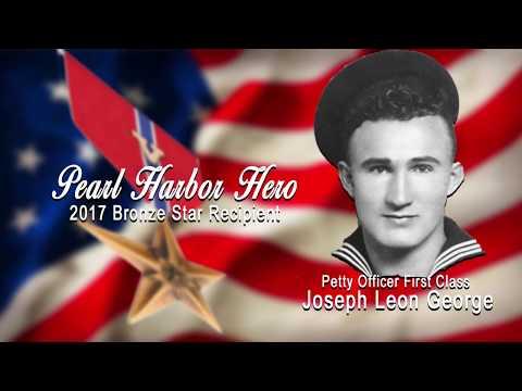 Chief Boatswain's Mate Joseph L. George's Bronze Star Ceremony