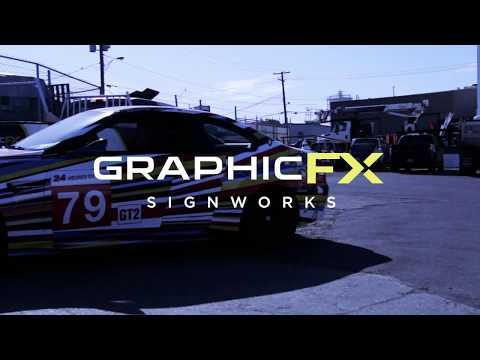 Graphic FX Signworks - BMW M3 - Jeff Koon Art Car