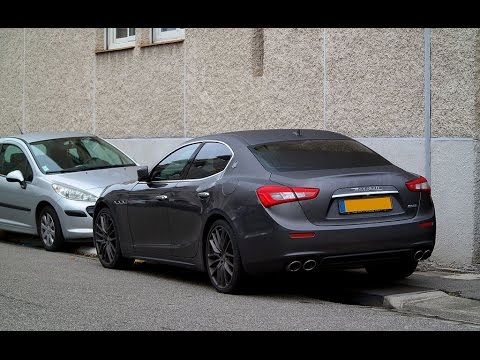 brutal maserati ghibli s q4 exhaust sound youtube. Black Bedroom Furniture Sets. Home Design Ideas