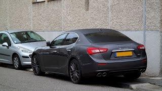 Brutal Maserati Ghibli S Q4 exhaust sound
