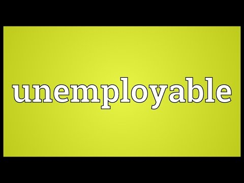 Header of unemployable