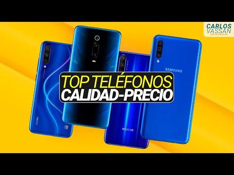 TOP Mejores Teléfonos CALIDAD-PRECIO Del 2019