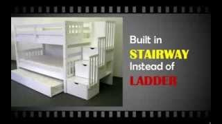 [review] Stairway Bunk Bed Twin Over Twin