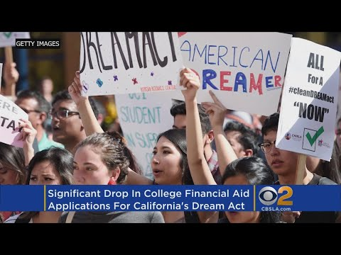 Financial Aid Applications For California Students In US Illegally Drop By Half