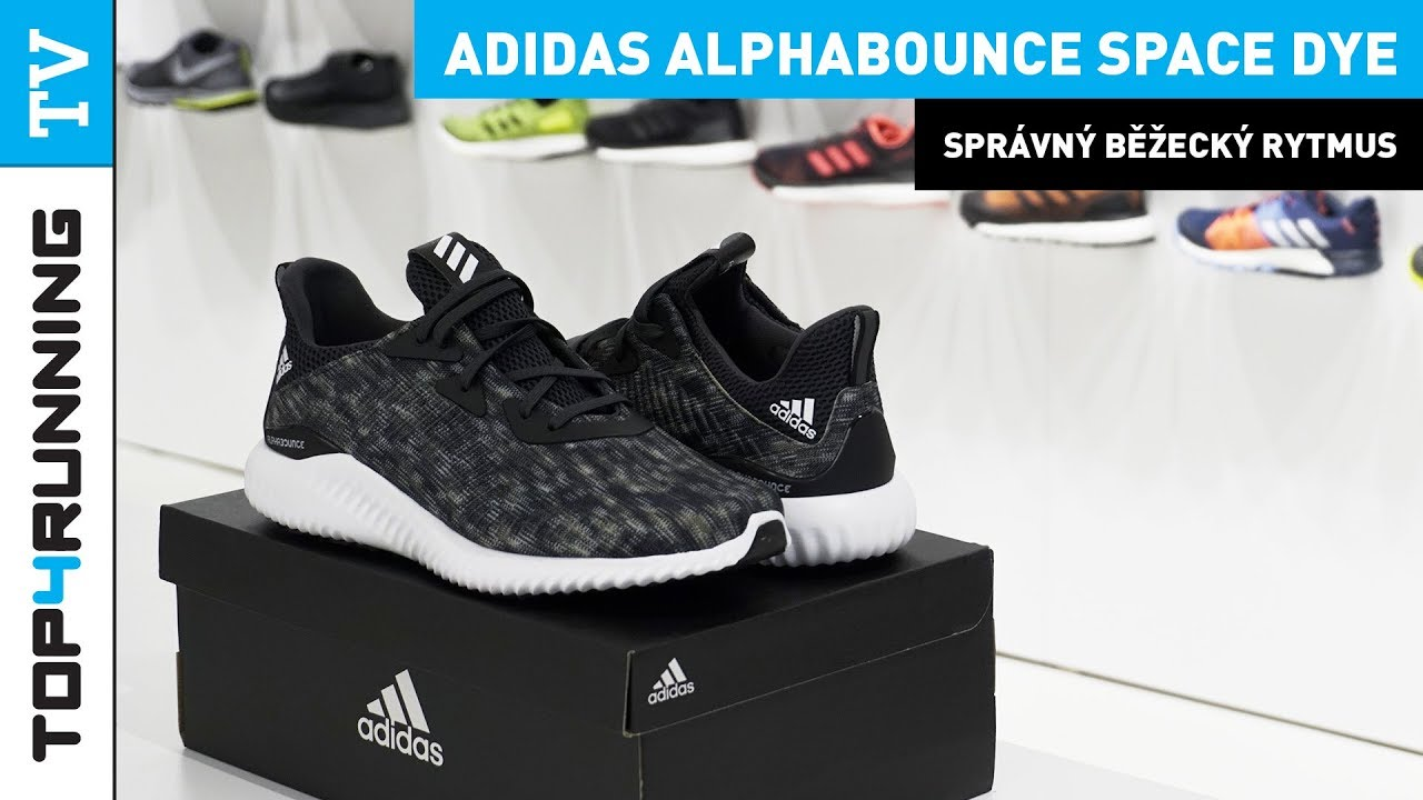 low priced 501dd d2c8c adidas Alphabounce Space Dye UNBOXING TOP4RUNNING TV 👈