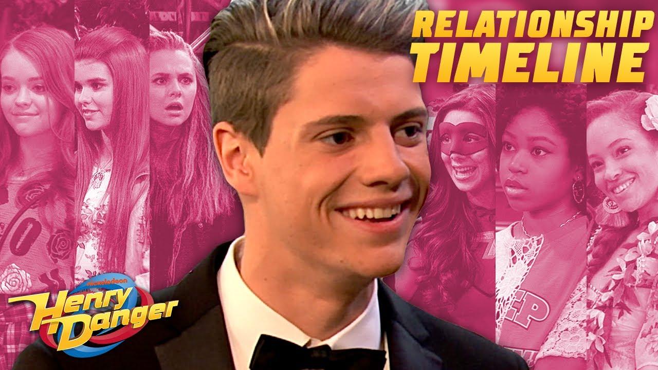 Download Henry Hart's Relationship Timeline 😘| Henry Danger