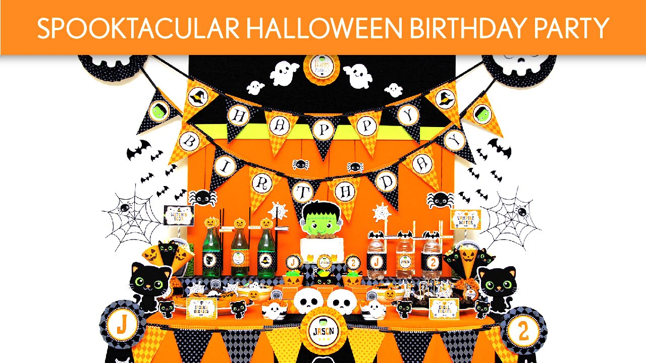 spooktacular halloween birthday party ideas spooktacular halloween b121 youtube - Halloween Birthday Party Ideas