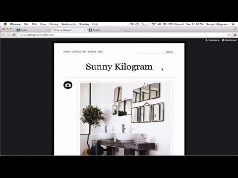 Adding A Header To Tumblr Themes : Using Tumblr