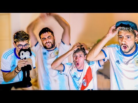 Reacciones de Amigos | Argentina vs Brasil | SEMIFINAL Copa America 2019