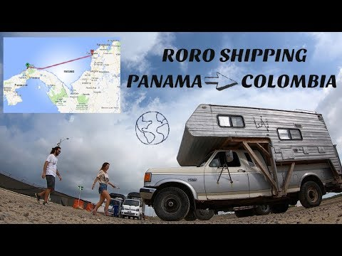 The MOST Expensive OVERLAND Border In The World/RORO Shipping Across The Darien Gap PANAMA COLOMBIA