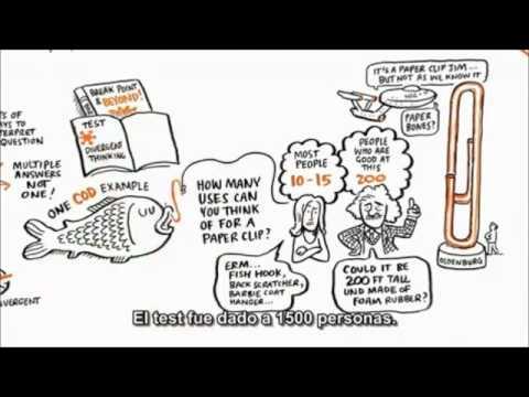 Creatividad y pensamiento divergente.Cambiando los paradigmas.Ken Robinson.wmv