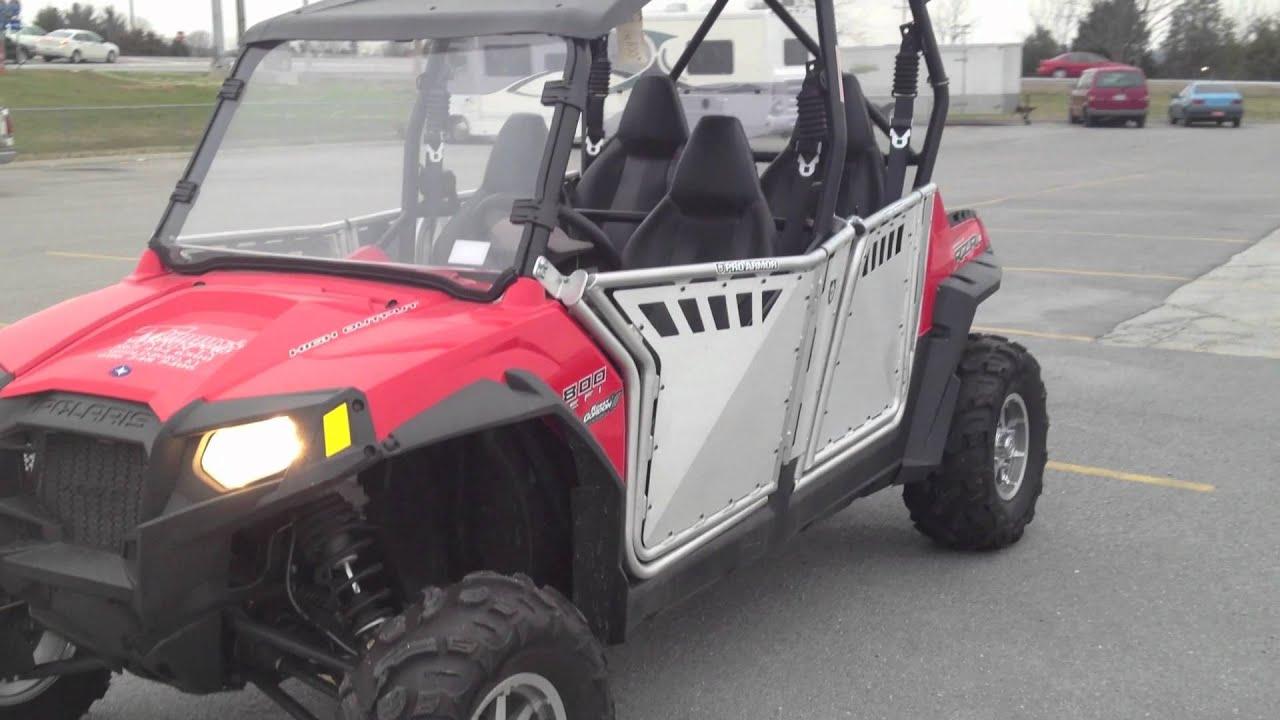 2012 Polaris Ranger Rzr 4 800 Robby Gordon Edition With