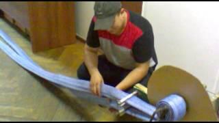 видео Перекатка пожарных рукавов