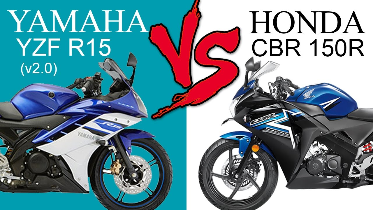 Honda CBR150R Vs Yamaha YZF R15 (v2 0) | Comparison Review (EXTENDED)