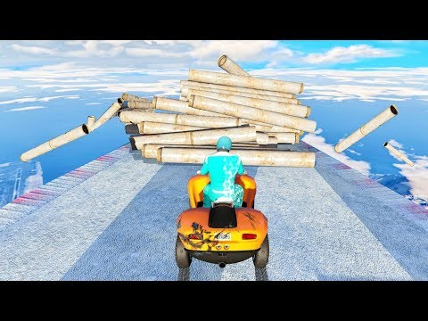Download Youtube: IMPOSSIBLE DOWN HILL OBSTACLE COURSE! (GTA 5 Race)