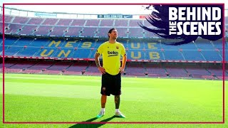 The most special training session... (back to Camp Nou)