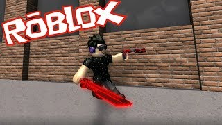 YOU CAN FREAKING WALL RUN? ROBLOX LAZER!