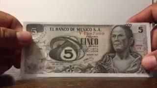 antiguos billetes de mxico