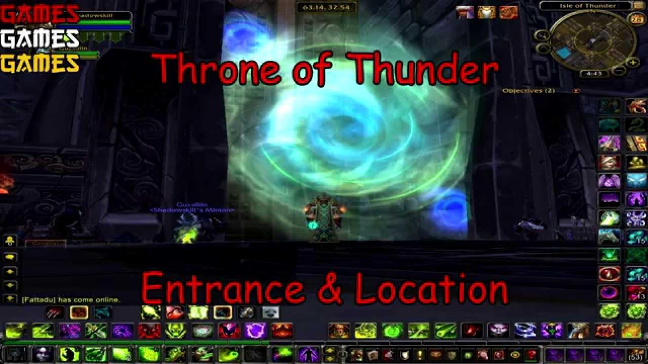Dragon Soul Raid Location: Throne Of Thunder Raid Entrance & Location