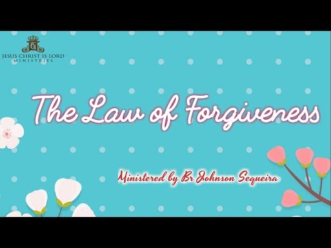 THE LAW OF FORGIVENESS SHARJAH 8 FEBRUARY 2019