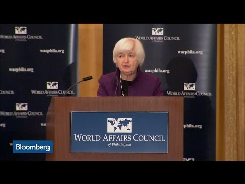 Yellen: Fed Funds Rate Needs to Rise Gradually Over Time