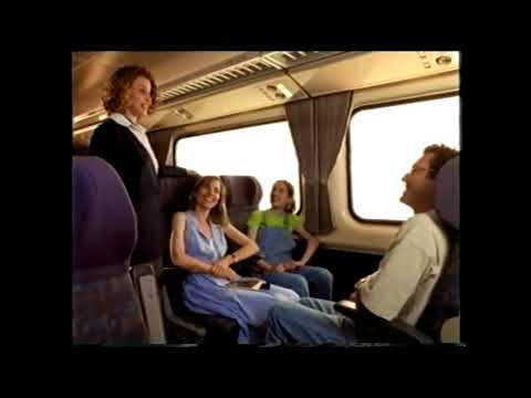"""CountryLink """"Fast Train"""" Ad 1990s"""