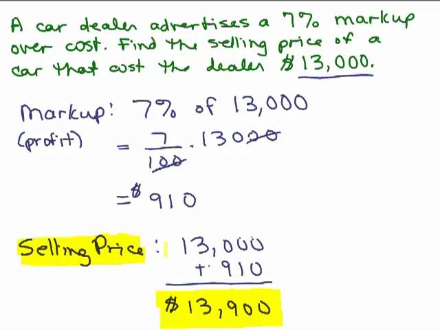 Review Of Markupdiscountsales Tax Lessons Tes Teach