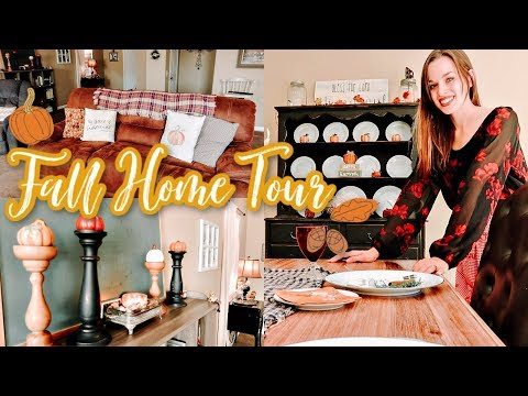 THANKSGIVING HOME TOUR 2019 *BUDGET FALL HOME DECOR IDEAS*