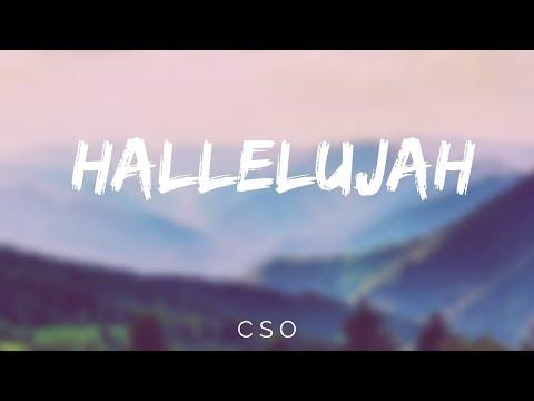HALLELUJAH  - CSO - LYRIC VIDEO