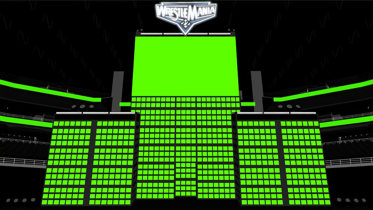 Download WWE WRESTLEMANIA 22 FIGURE STAGE TEMPLATE LAYERS PACK