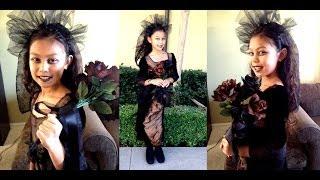 Gothic Bride Easy Girl Halloween Costume Idea