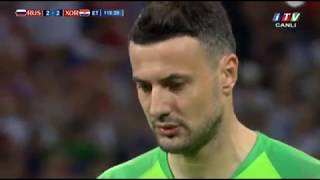 Dünya Çempionatı 1/4 Final Rusiya 2-2 Xorvatiya İTV #BolFutbol