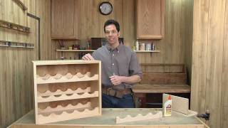 Woodworking Around The Home With The Neighborhood Carpenter - 01 Building A Wine Rack